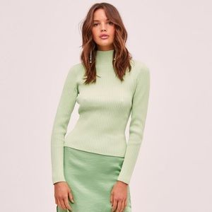 Green Turtleneck